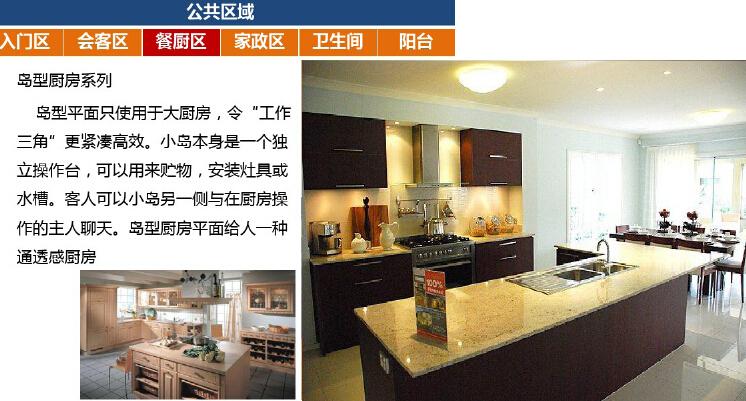 高层住宅楼户型房间功能设计研究(图文并茂)-餐厅区