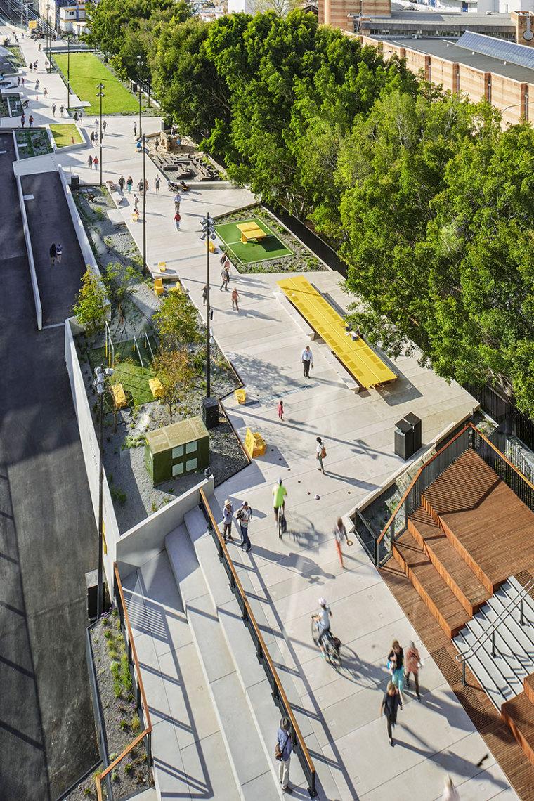 悉尼货运铁路轨道改造项目景观改造,眼睛一亮哦!