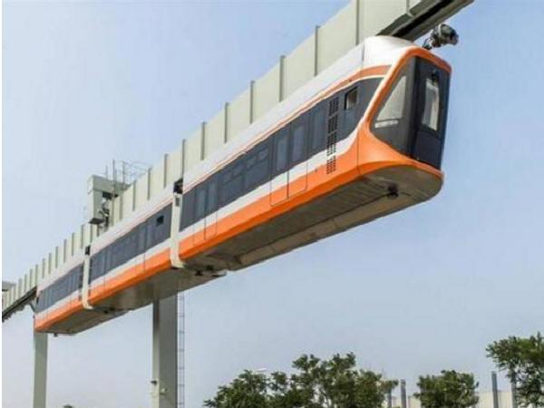 """国内最快空中""""悬挂式单轨列车""""下线,爬坡能力是地铁的3倍_1"""