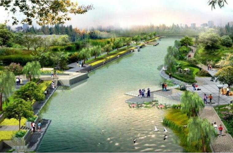 [江苏]扬州登月湖旅游风情小镇概念性规划设计
