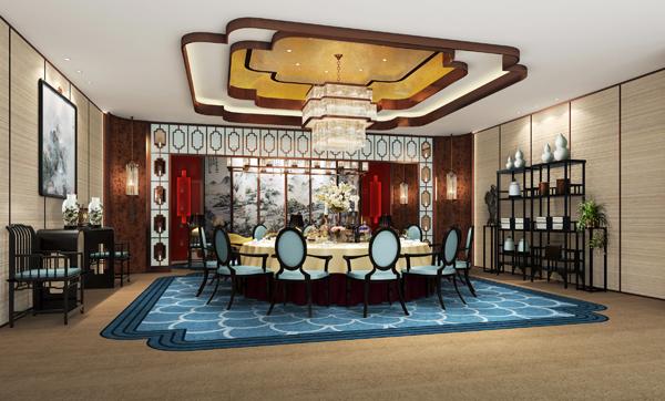 郑州商业空间装修设计 闽龙展馆设计效果图