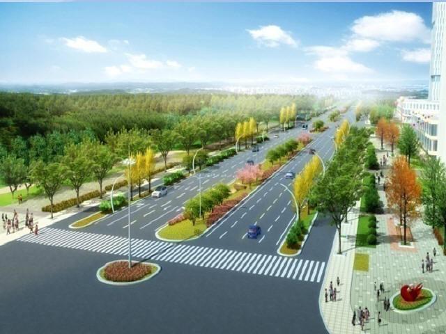 城市主干路道路工程施工组织设计171页(水泥搅拌桩,路桥排水附属设施)