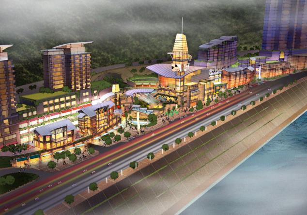 [重庆]超高层新中式风格灯塔购物娱乐中心建筑设计方案文本