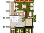 某法式餐厅及雪茄吧室内设计施工图(含方案、效果图)