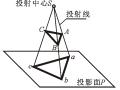 建筑识图与AutoCAD之二投影的基本原理讲义PPT(72页)
