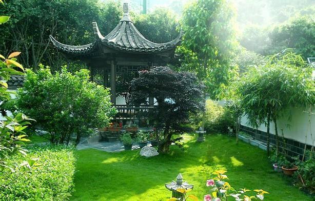 中式住宅景观|国人的田园梦