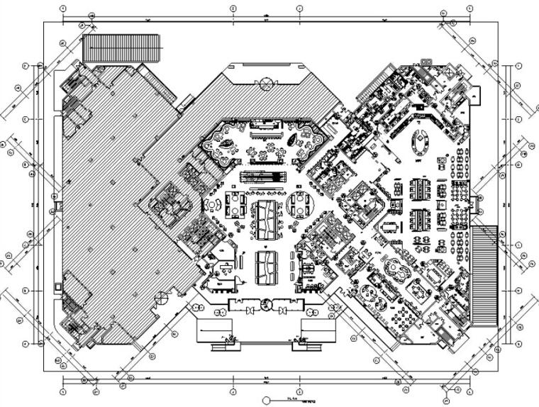 VIP包间立面图资料下载-[苏州]万和酒店设计施工图及效果图(附餐厅软装方案文本)
