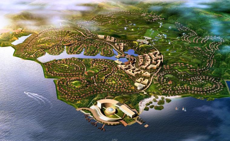 [山东]高速越野国际度假村规划景观设计文本JPG (62页)