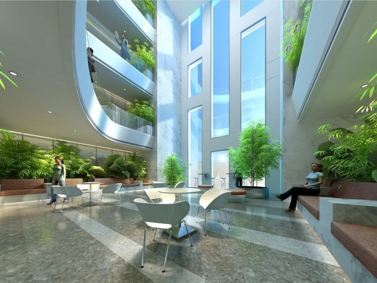 [上海]金螳螂设计——宝钢综合办公大楼室内装饰概念设计方案