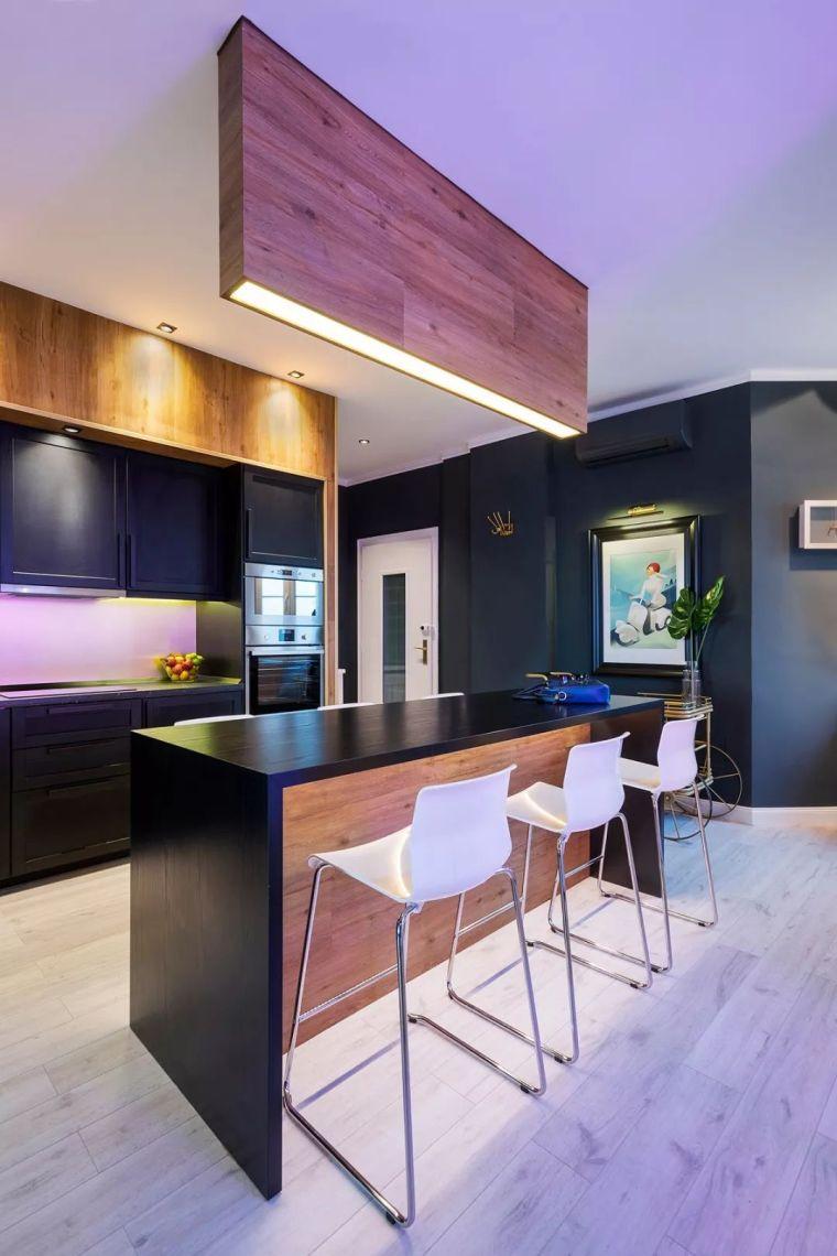 深色系墙面设计,让你家的颜值翻一倍_10