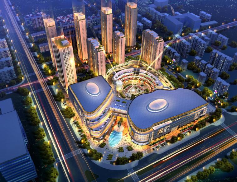 高层多功能性城市综合体建筑设计方案文本