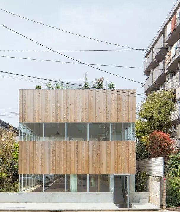 16个日本最佳现代住宅,小而美的空间造就了温暖的家。_18