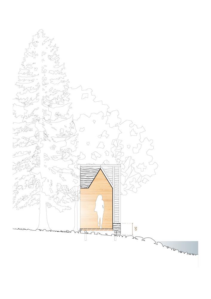 法国木堆积木小屋-8