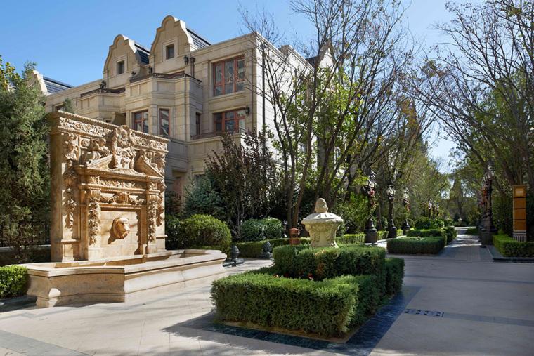 北京中海九号公馆别墅景观