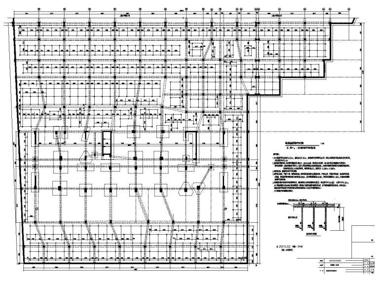 [广东]地下单层剪力墙结构地下车库结构施工图