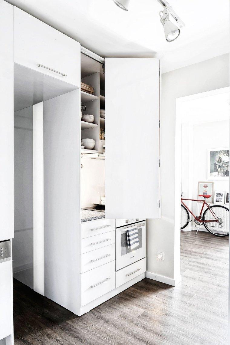 伊斯坦布尔:这间只有41平米的公寓却带来无限的生活美感_6