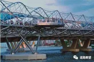 """如此""""扭曲""""的桥梁——解析将结构美学玩到极致的桥梁!"""