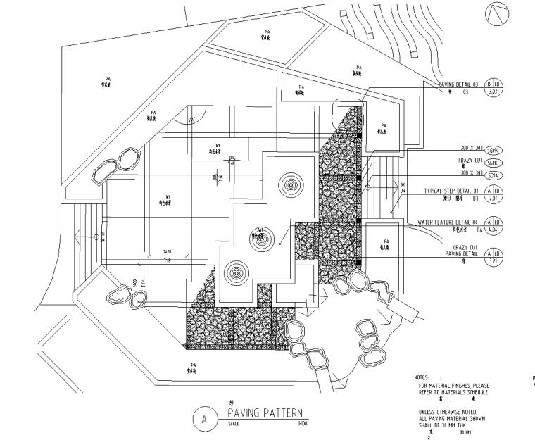 [四川]成都中海名城居住小区施工图设计(包含CAD+200个)