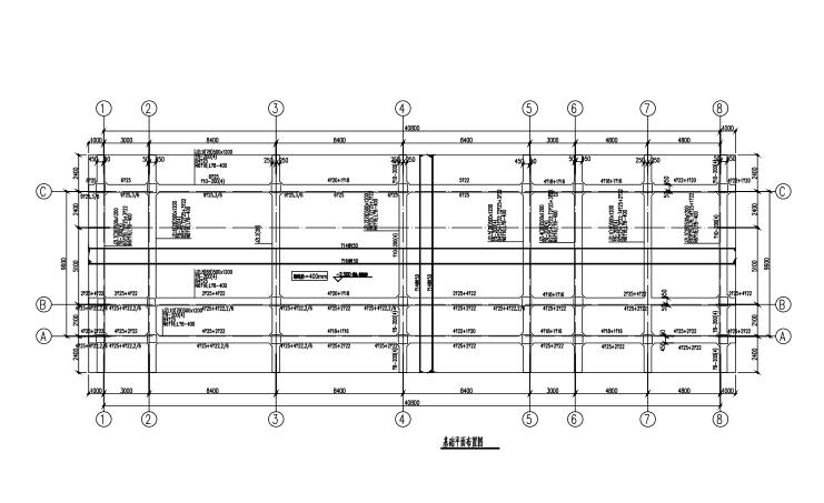4层框架结构教学楼结构施工图(CAD、17张)
