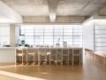 首尔日式餐厅:简化结构的空间