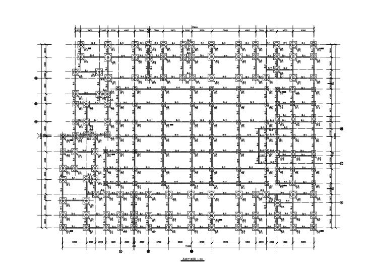 5层钢混框架结构住宅楼结构施工图(CAD,31张)