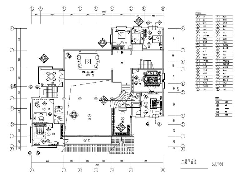 [上海]富春中式风格5层独立别墅施工图
