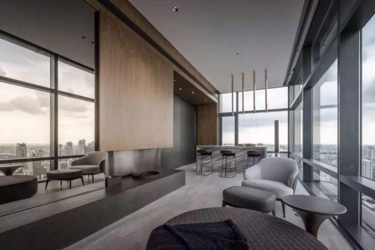 室内设计 130㎡的单身公寓,设计感十足_11