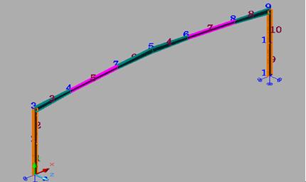 3d3s软件-门式钢架的设计的全过程