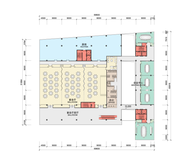 [浙江]高层中式风格酒店娱乐综合体建筑方案文本_11