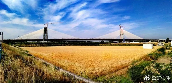 BIM技术在商登高速郑州境段跨南水北调总干渠特大矮塔斜拉桥中的
