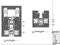 邱德光明珠花园大堂与楼梯间施工图