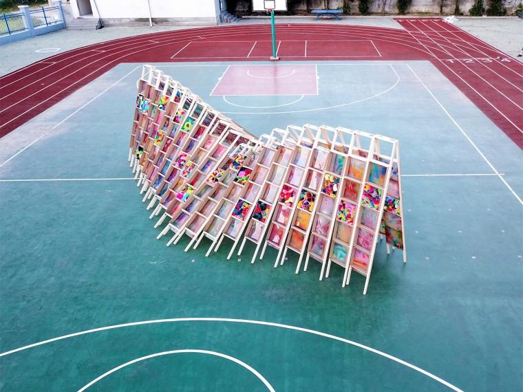 2018留守儿童空间装置建造营