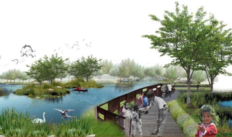 [山西]太原晋阳湖区环湖公园景观设计
