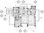 [苏州]现代简约风格独栋别墅装修全套施工图