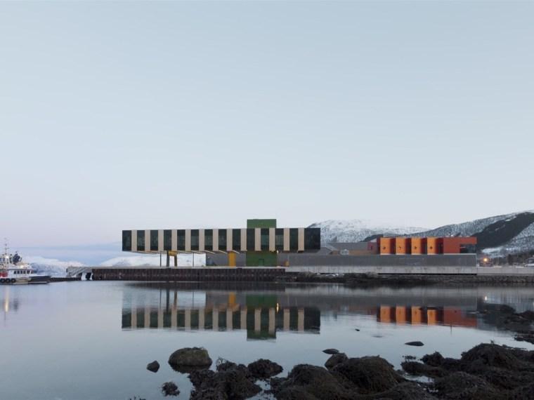 挪威Holmen渔场工业区