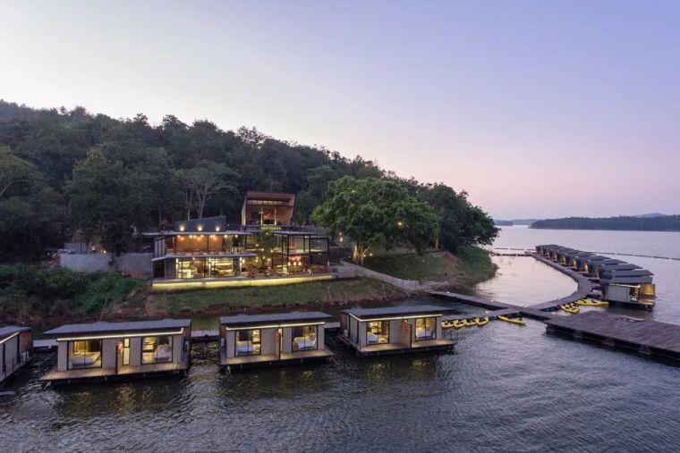 超美的水上筏式酒店设计,美出了新高度_19