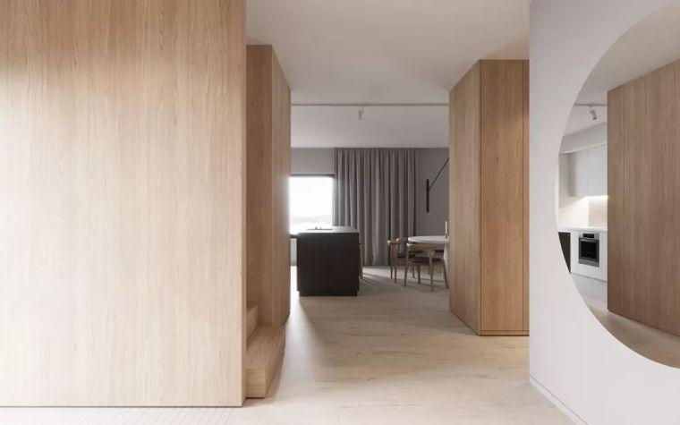 用木饰面装饰家,自然纯粹才是家该有的样子_2