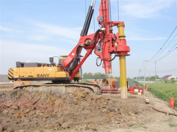 旋挖桩基施工打滑五大原因解析