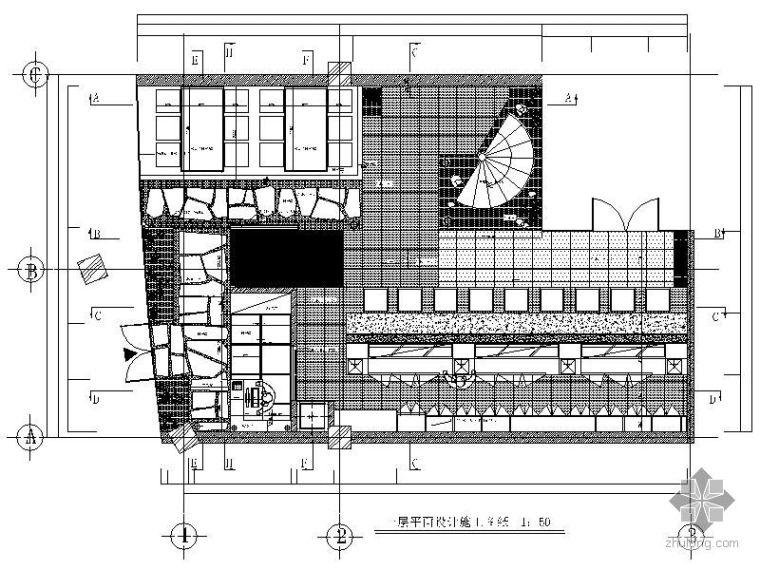 日式料理店方案设计图