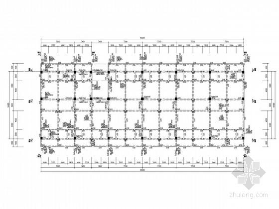 4层框架办公楼结构施工图(管桩)