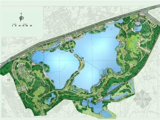 [安徽]绿色生态动感水乐园公园景观规划设计方案