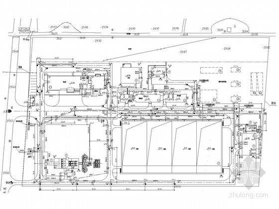[河北]城市污水处理厂全套工艺图纸(CASS工艺)
