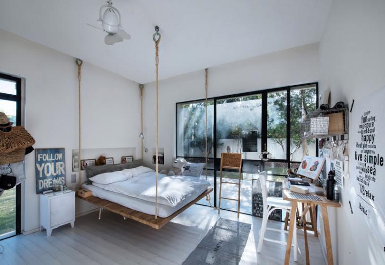 谁说青少年卧室最难设计?呶这里有14个例子_2