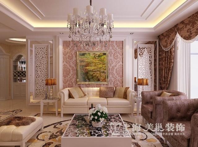 东方国际159平四室两厅装修欧式豪华效果图