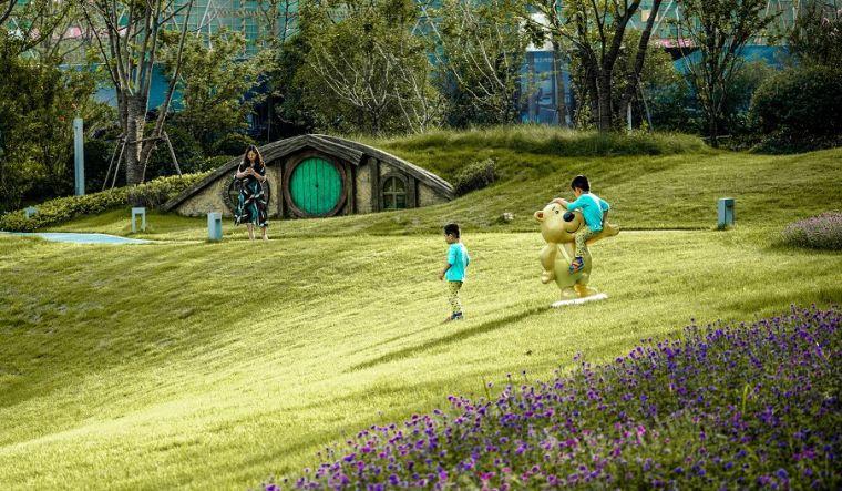 公园里的公园|绿地南昌中央公园_23