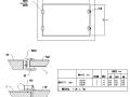 风管风口管件阀门安装节点CAD图