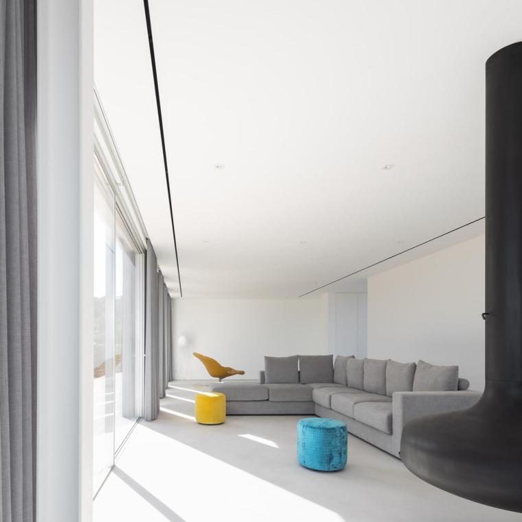 葡萄牙雕塑艺术般写意的住宅-1551071440179793