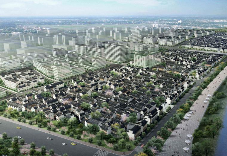 [湖北]汉江两岸概念性城市设计方案文本
