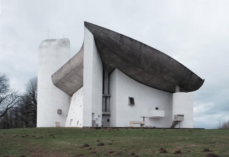法国朗香教堂