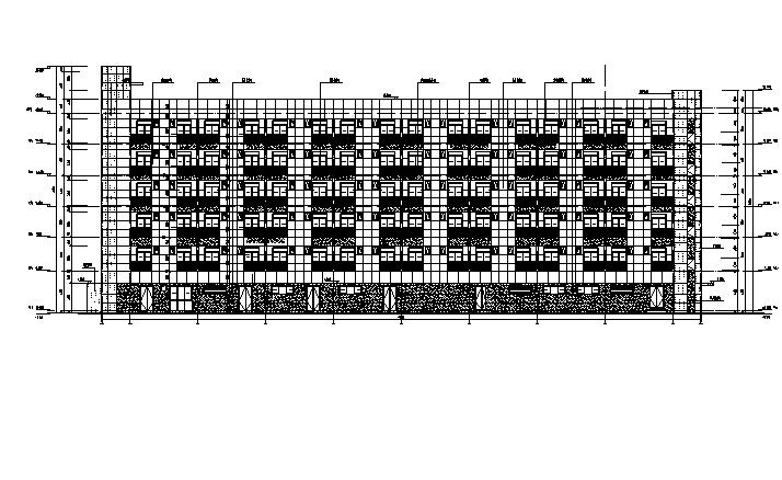 [浙江]万科高层框架结构综合办公楼及厂房建筑施工图